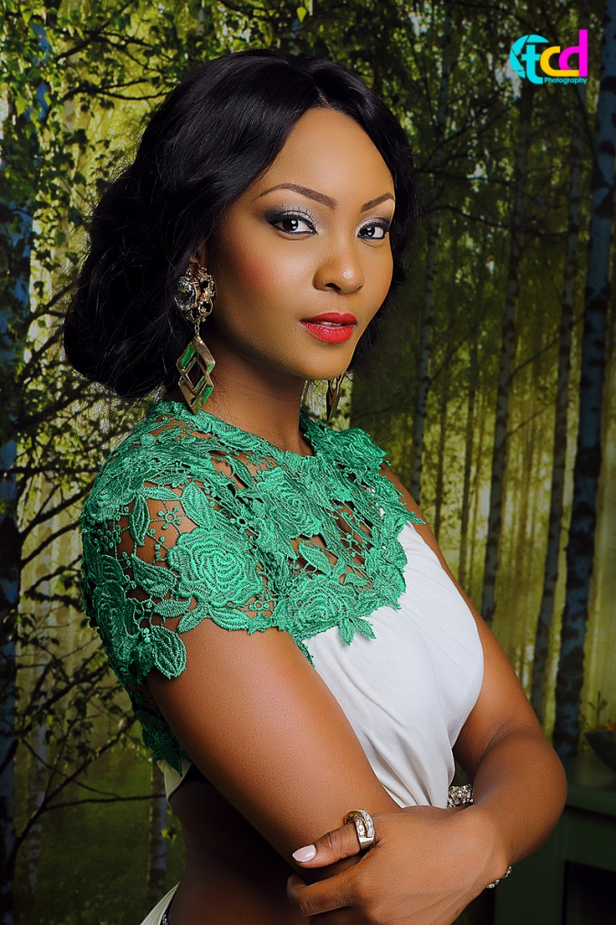 Osas Ighodaro – Wow Magazine Cover