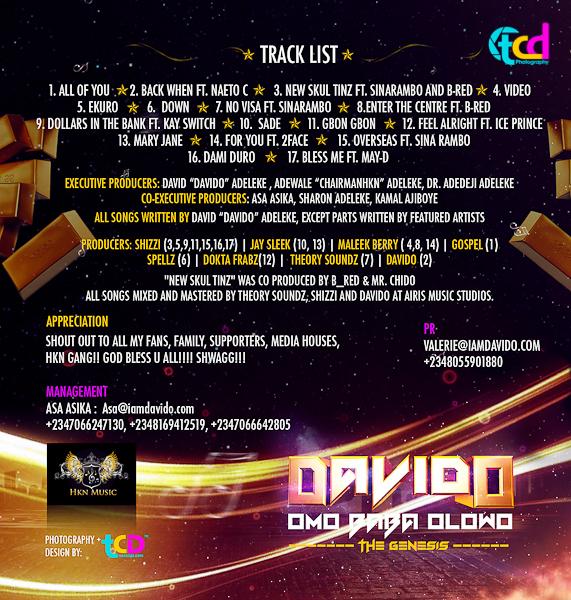 Davido – Omo Baba Olowo – The Genesis